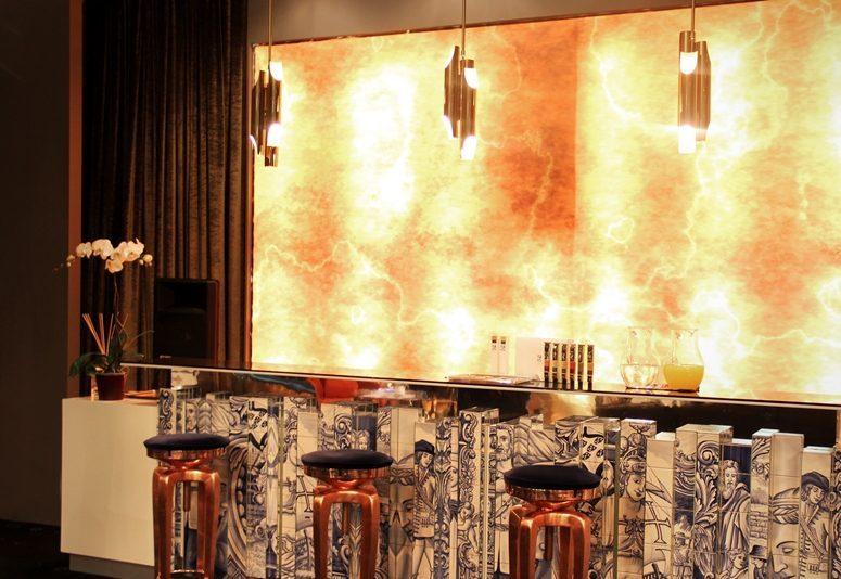 How decorate a modern bar