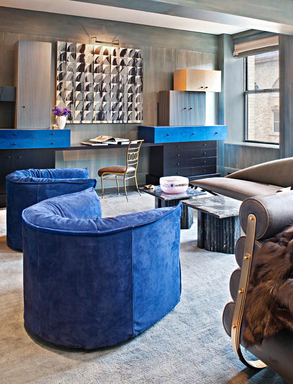 Kelly Wearstler living room