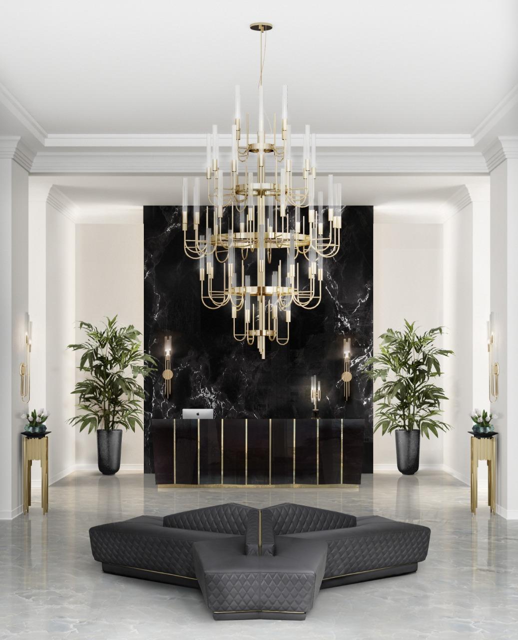 Luxury Lighting Entryway