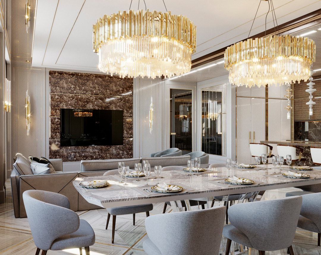 Insplosion-living-room-dining-room-combo-furniture-lighting-by-Luxxu