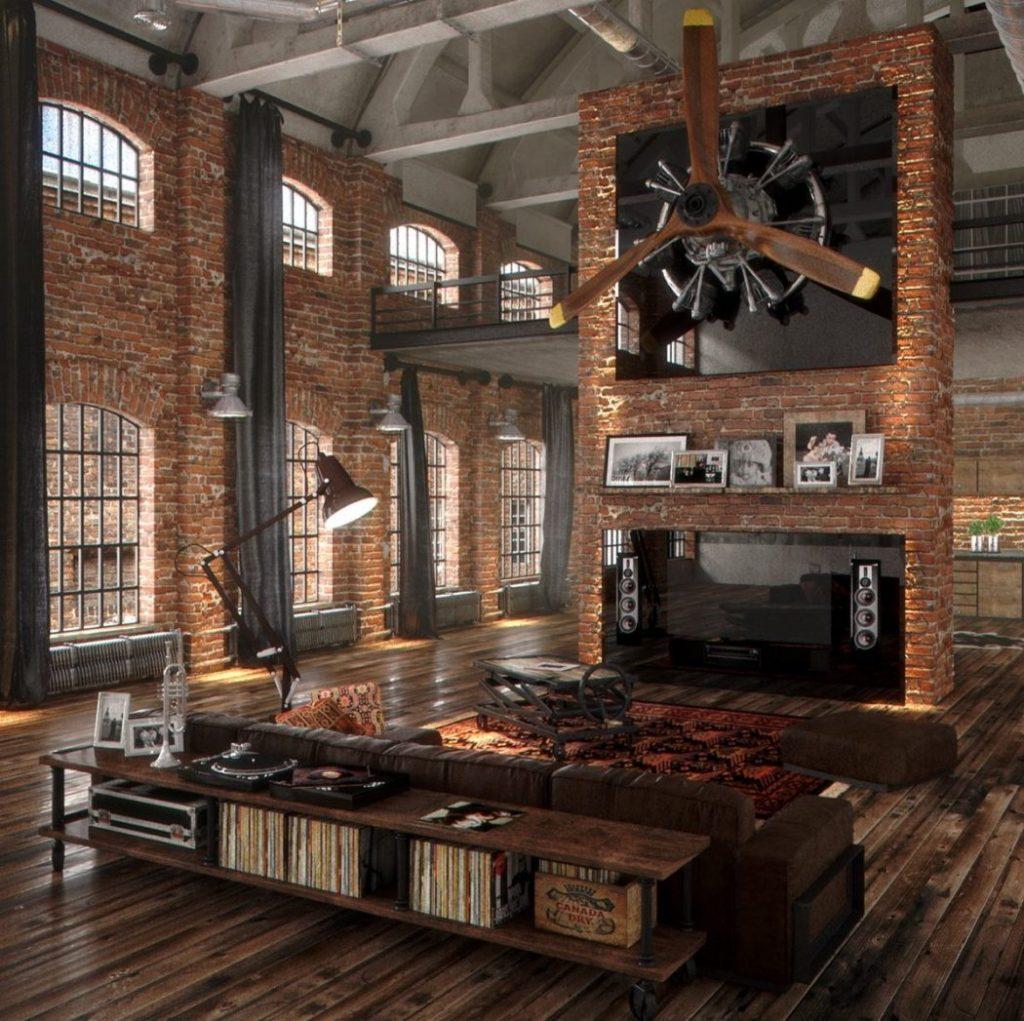 Best Tips On Industrial Living Rooms, Industrial Living Room