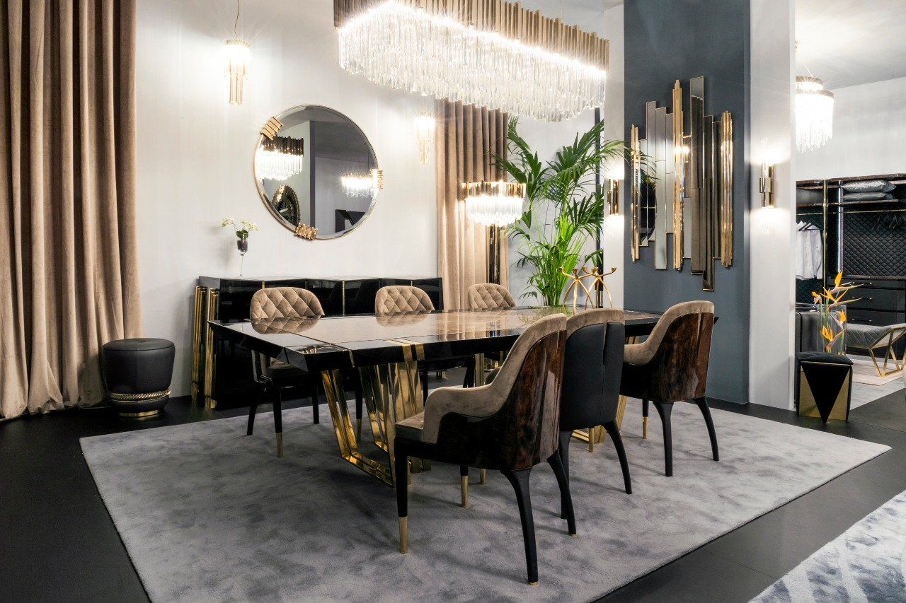 EXCLUSIVE CLASSY DINING ROOM BY LUXXU AT M&O 2020 BY LUXXU