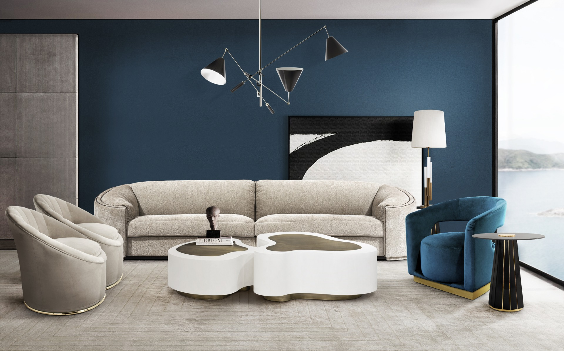 Blue_Modern__Stylish_Living_Room_Boca_do_Lobo_DelightFULL_Covet_House