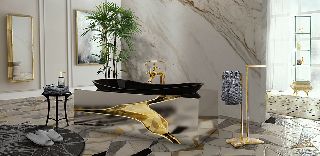 a luxurious bathroom of Best Modern Bathroom Inspirations