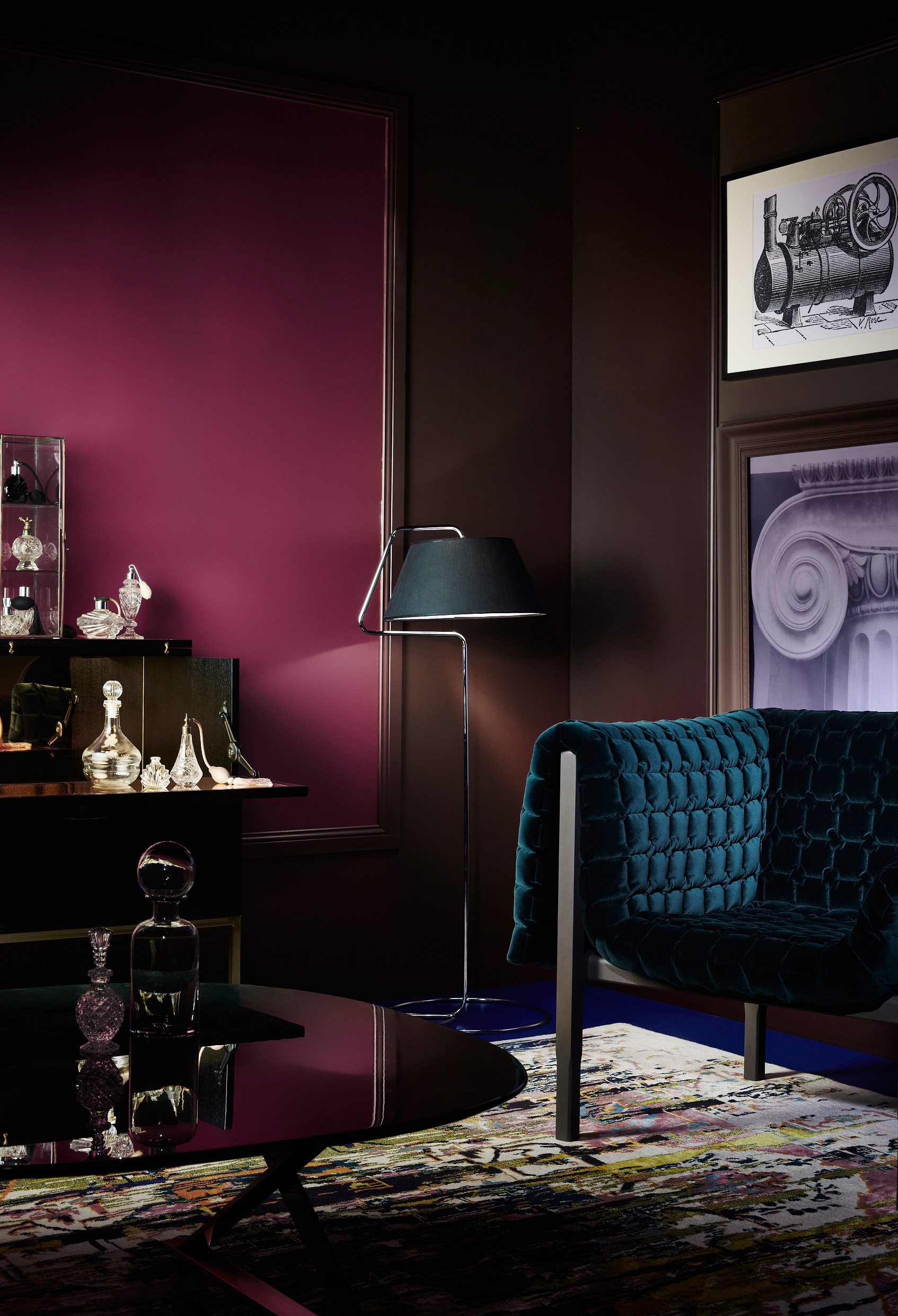 mauve office in luxury offices paint colors