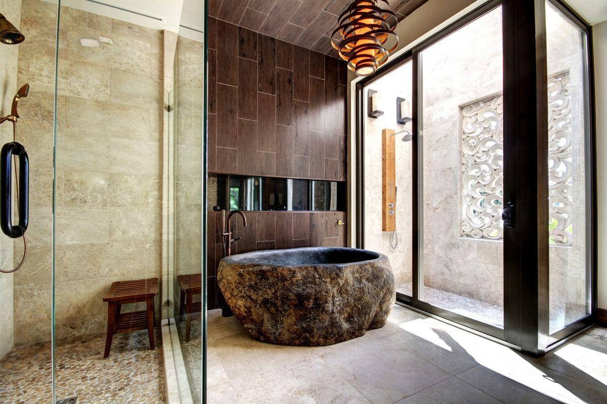 an oriental bathroom of Best Modern Bathroom Inspirations