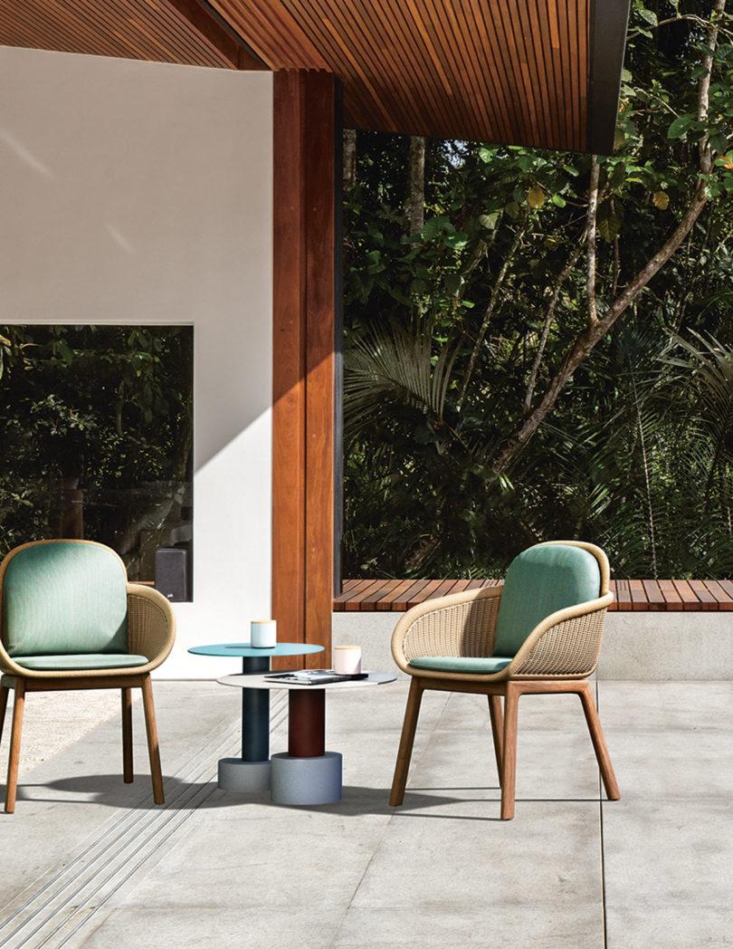 patricia urquiola x kettal in Best outdoor project inspirations