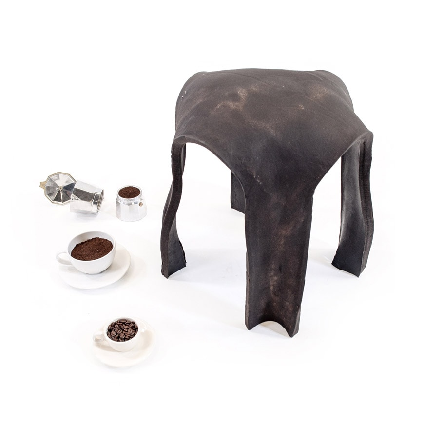 re bean coffee stool at Salone satellite 2019