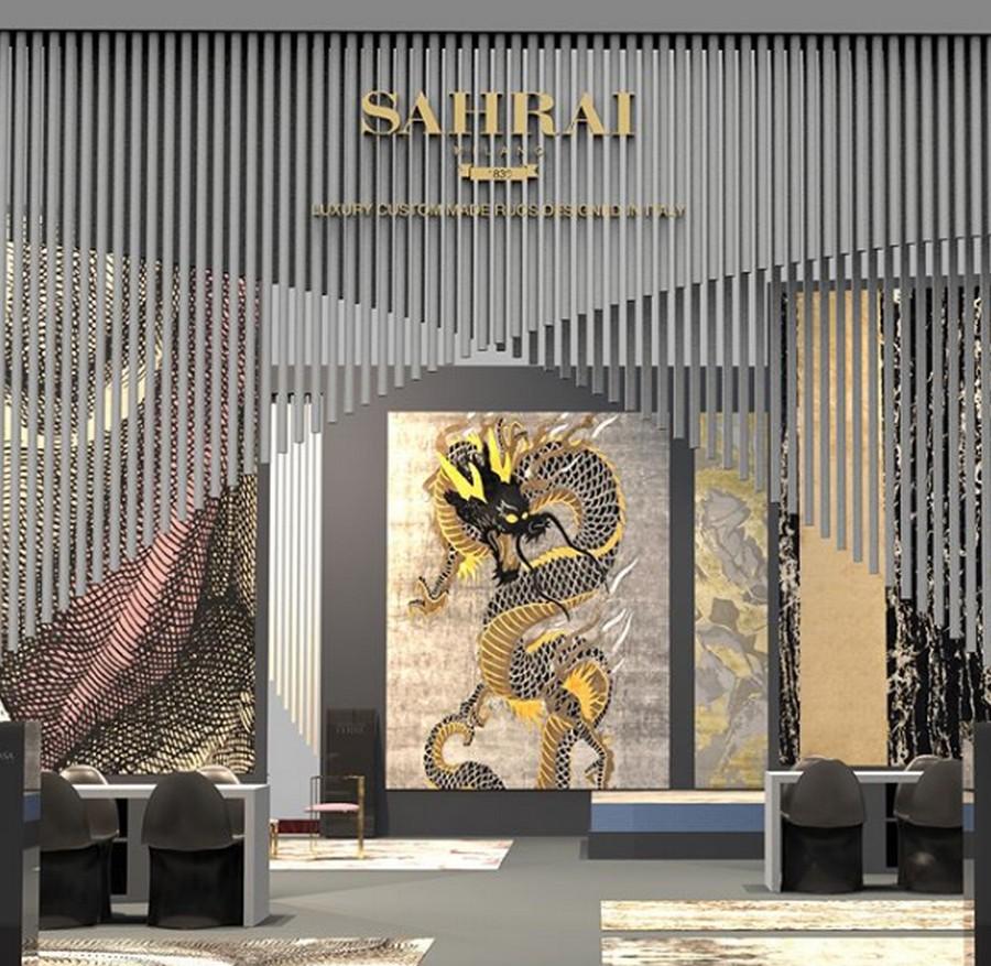sahrai stand at ISaloni 2019