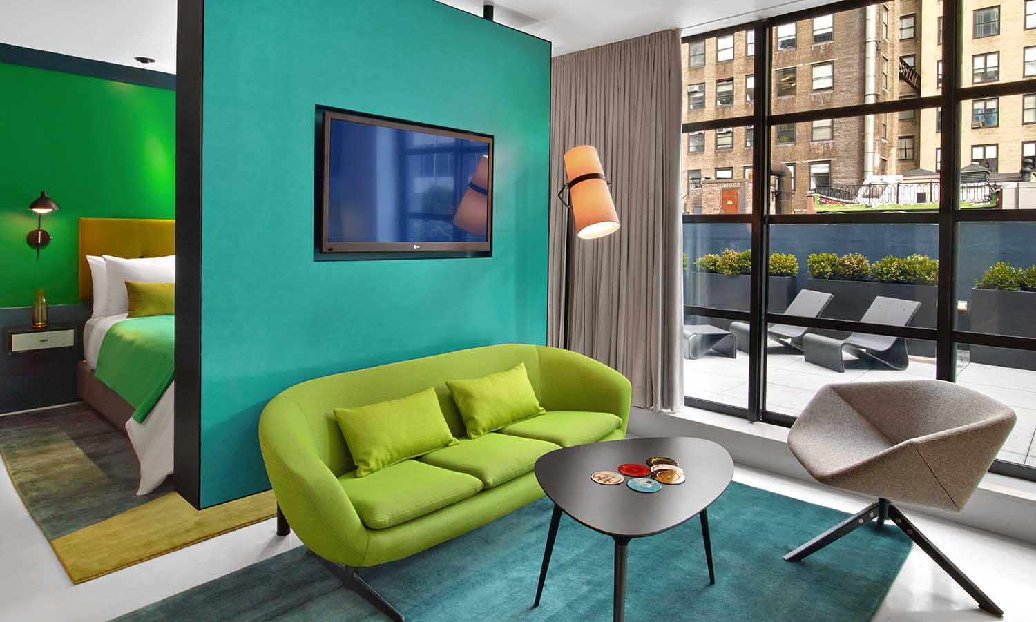 the wiliam hotel in Colorful modern hotel designs
