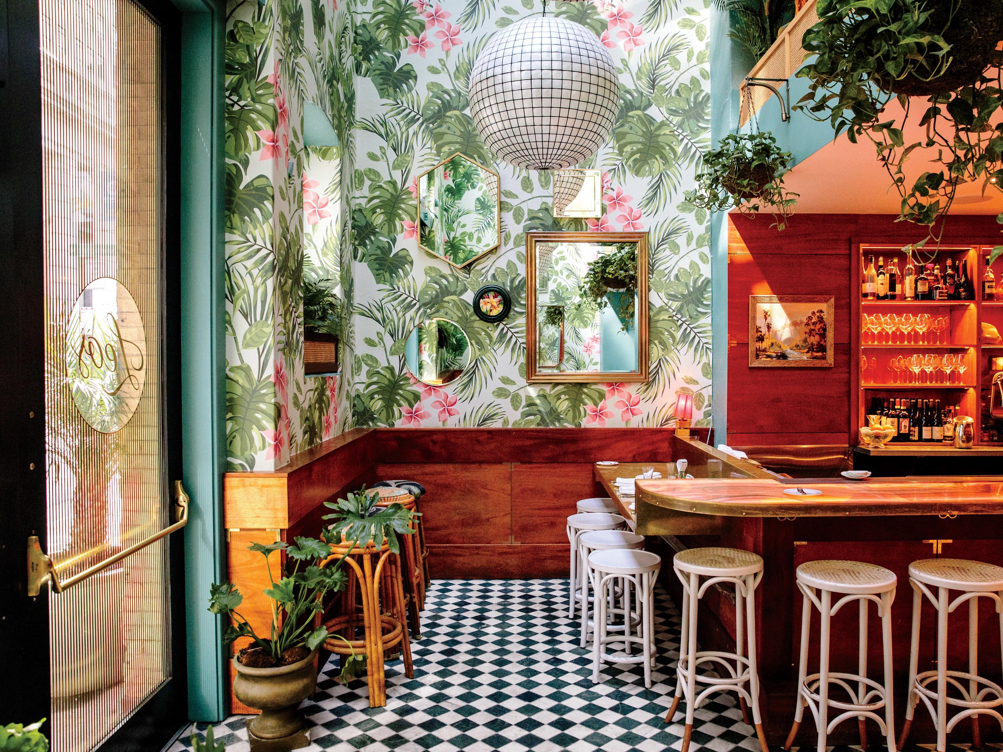Famous Leo's Oyster Bar by Ken Fulk