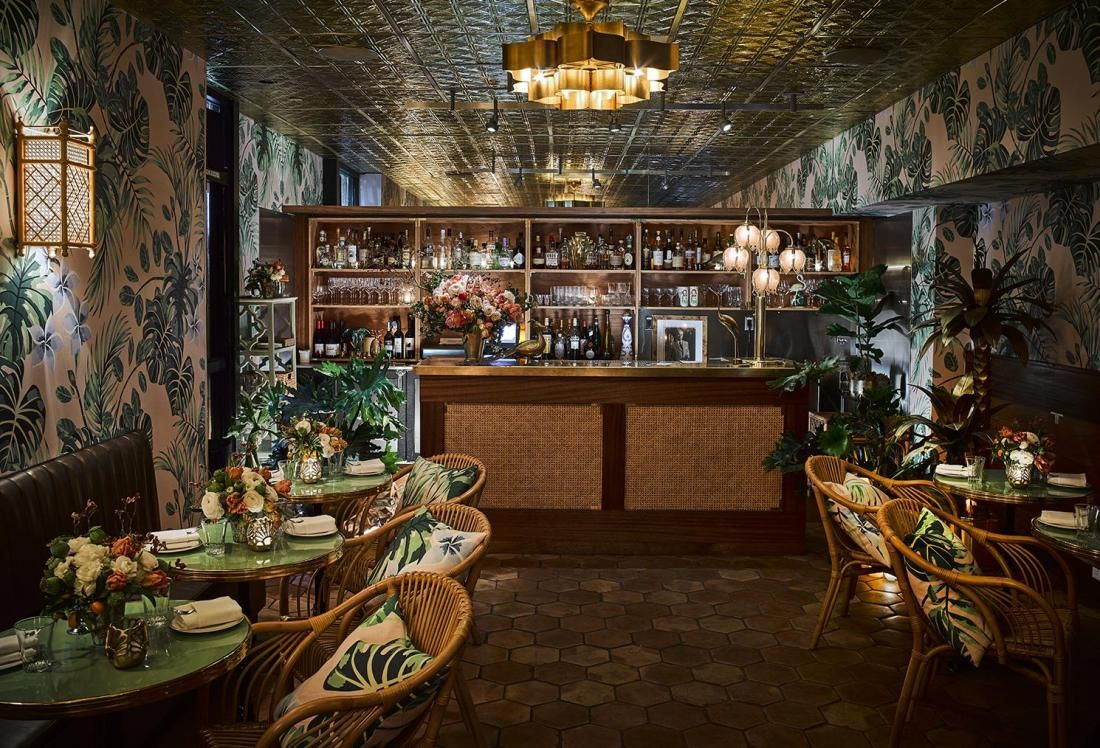 Tropical Bar And Restaurant Inspirations Insplosion