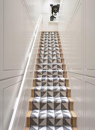 lush staircase