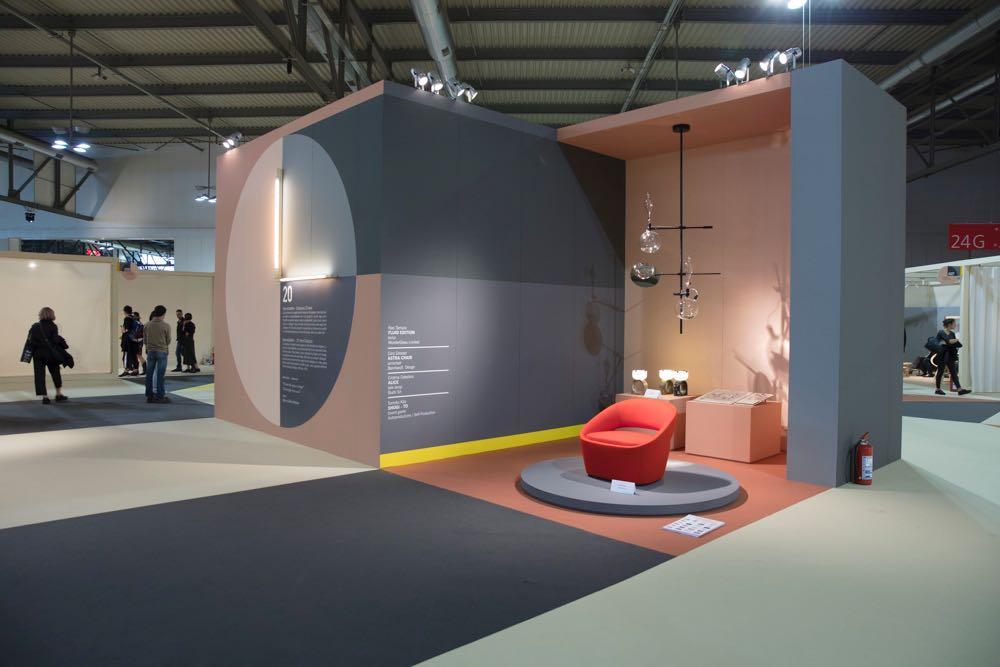Salone satellite 2019 stands