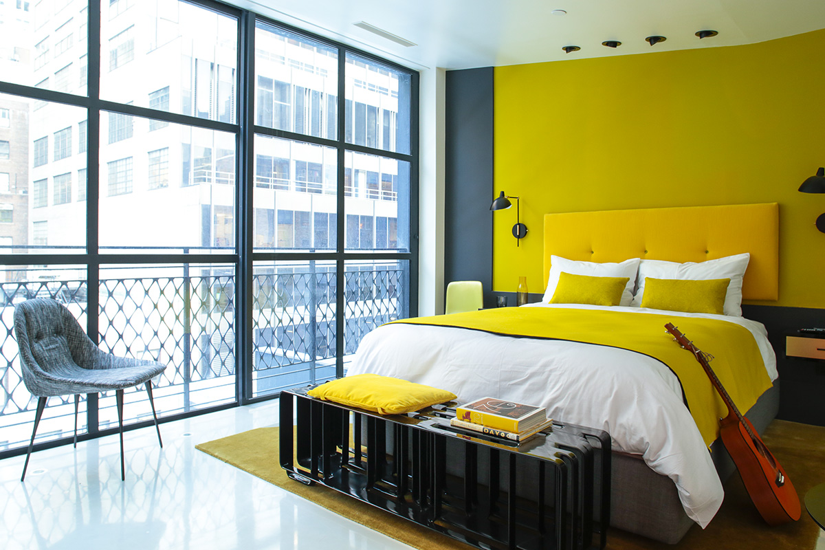 the william hotel in Colorful modern hotel designs