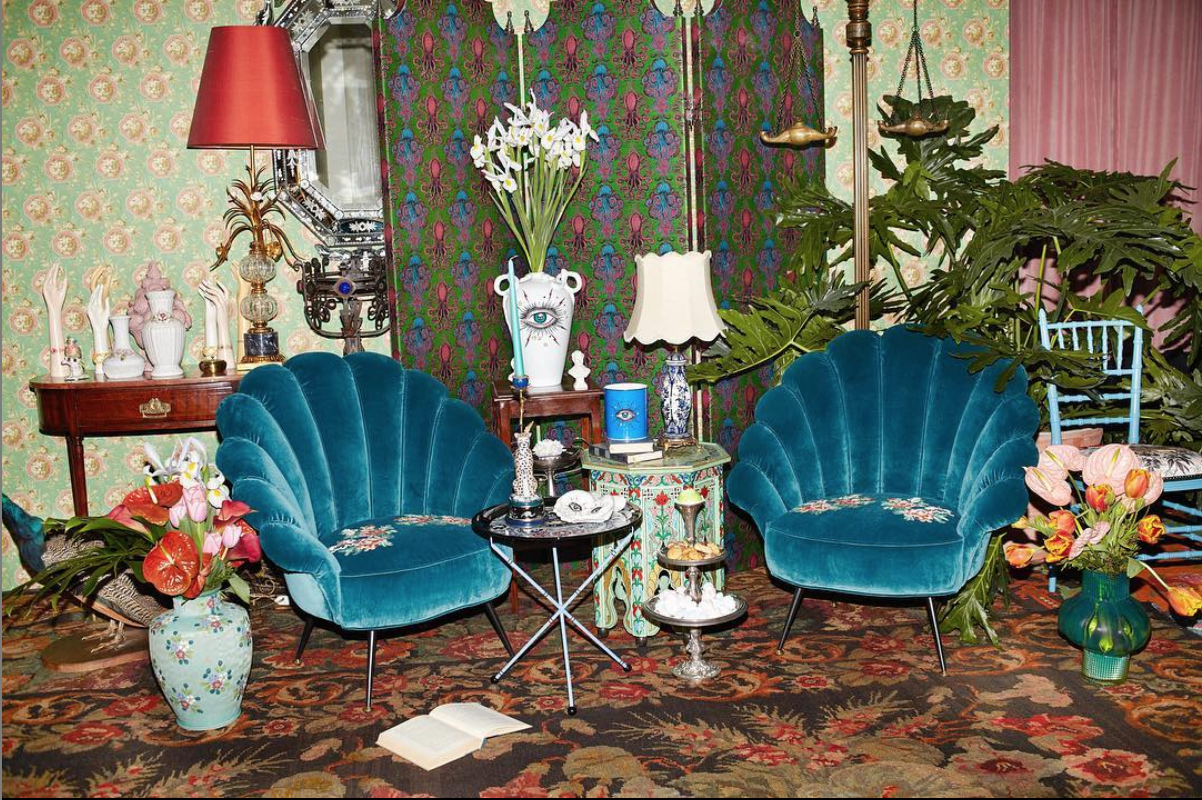 New Gucci pop-up apartment store