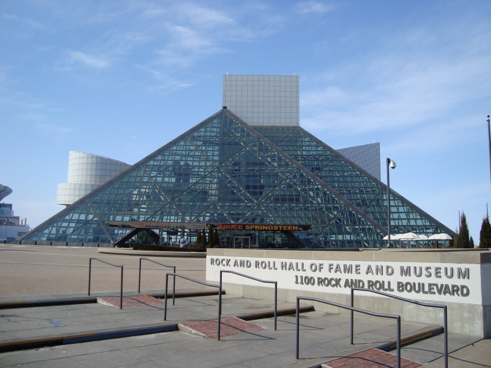 The Rock and Roll Hall of Fame and Museum by I.M. Pei