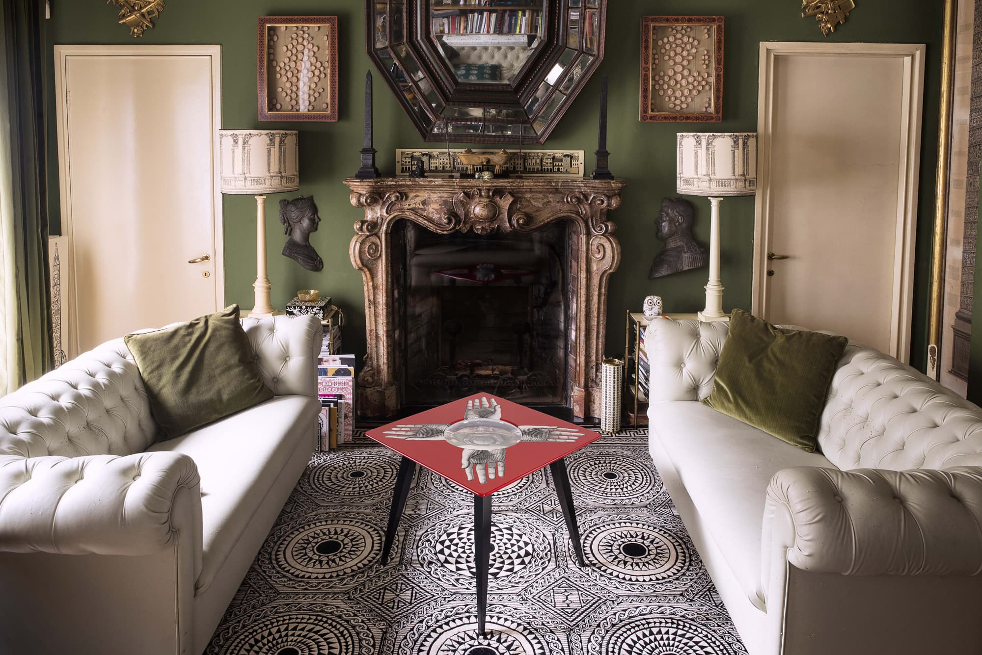 Fornasetti's new sophisticated home collection