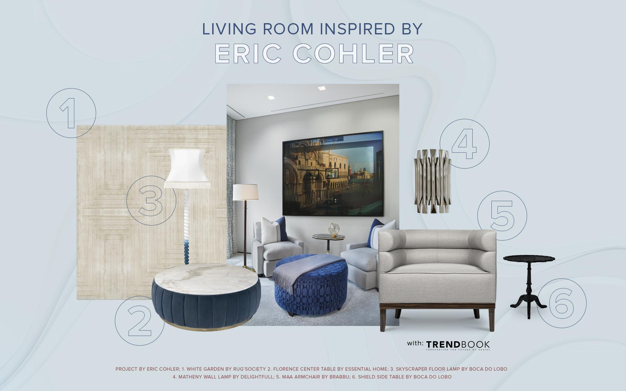 Living room modboard