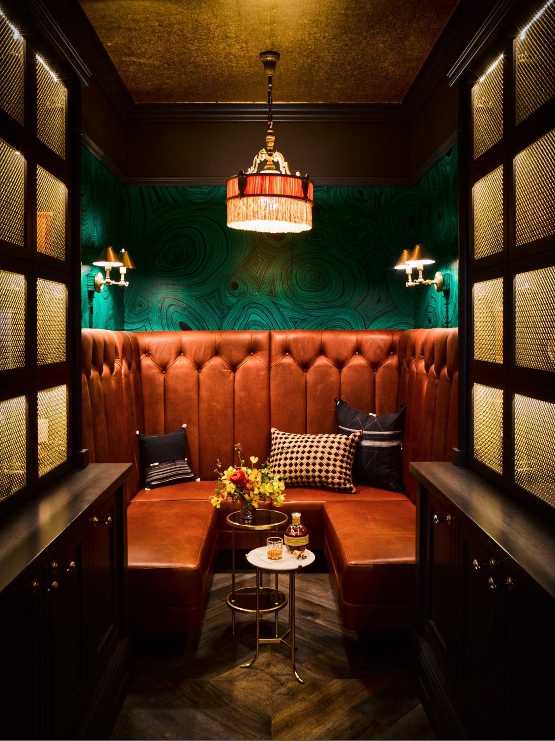 Ken Fulk SF Interior-Famous bar