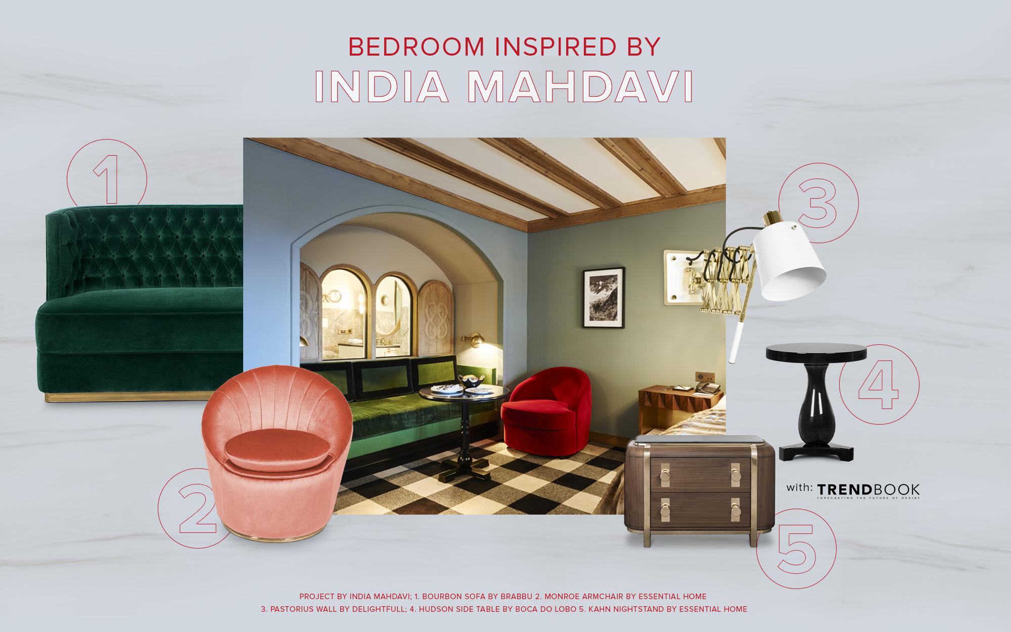 India Mahdavi Bedroom inspiration
