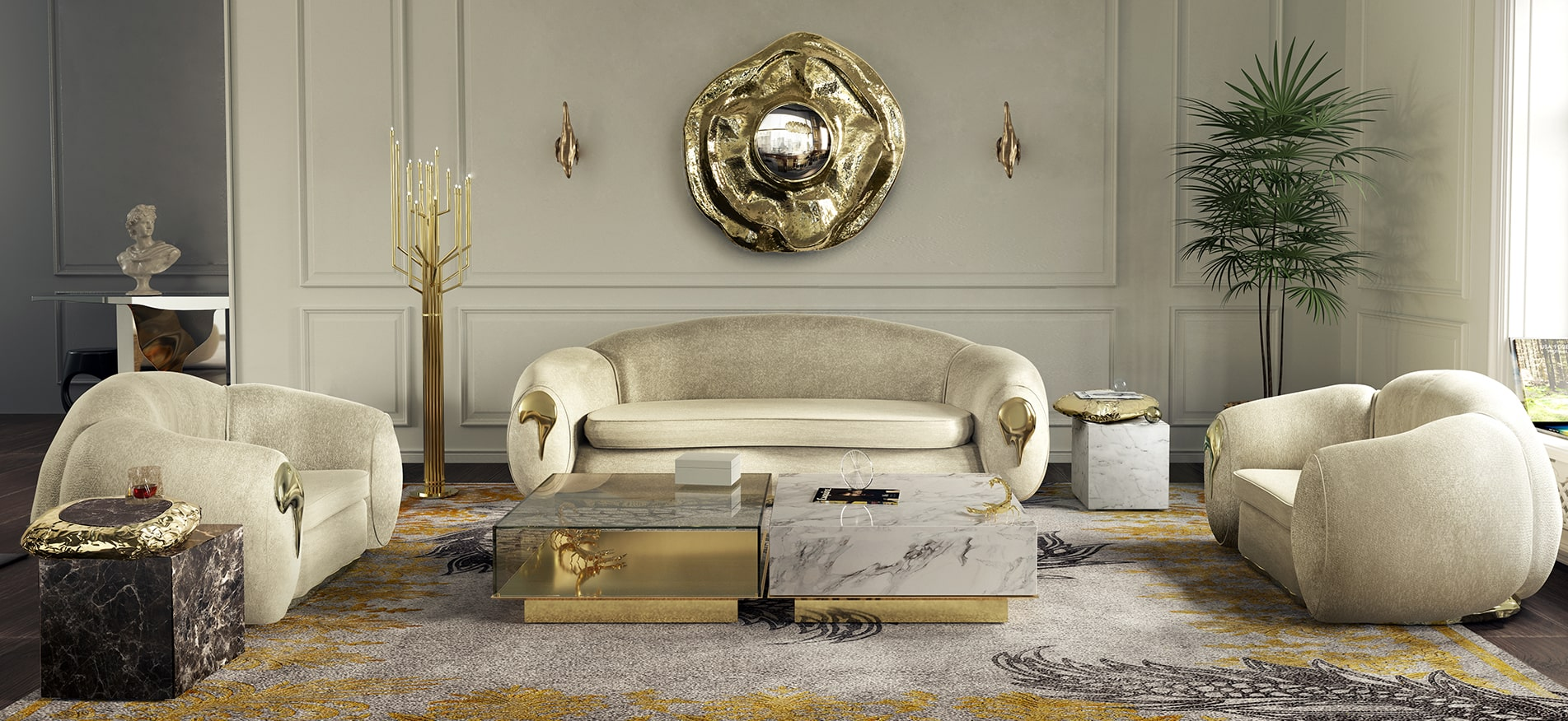 Gold Decor Trends 2020 Insplosion