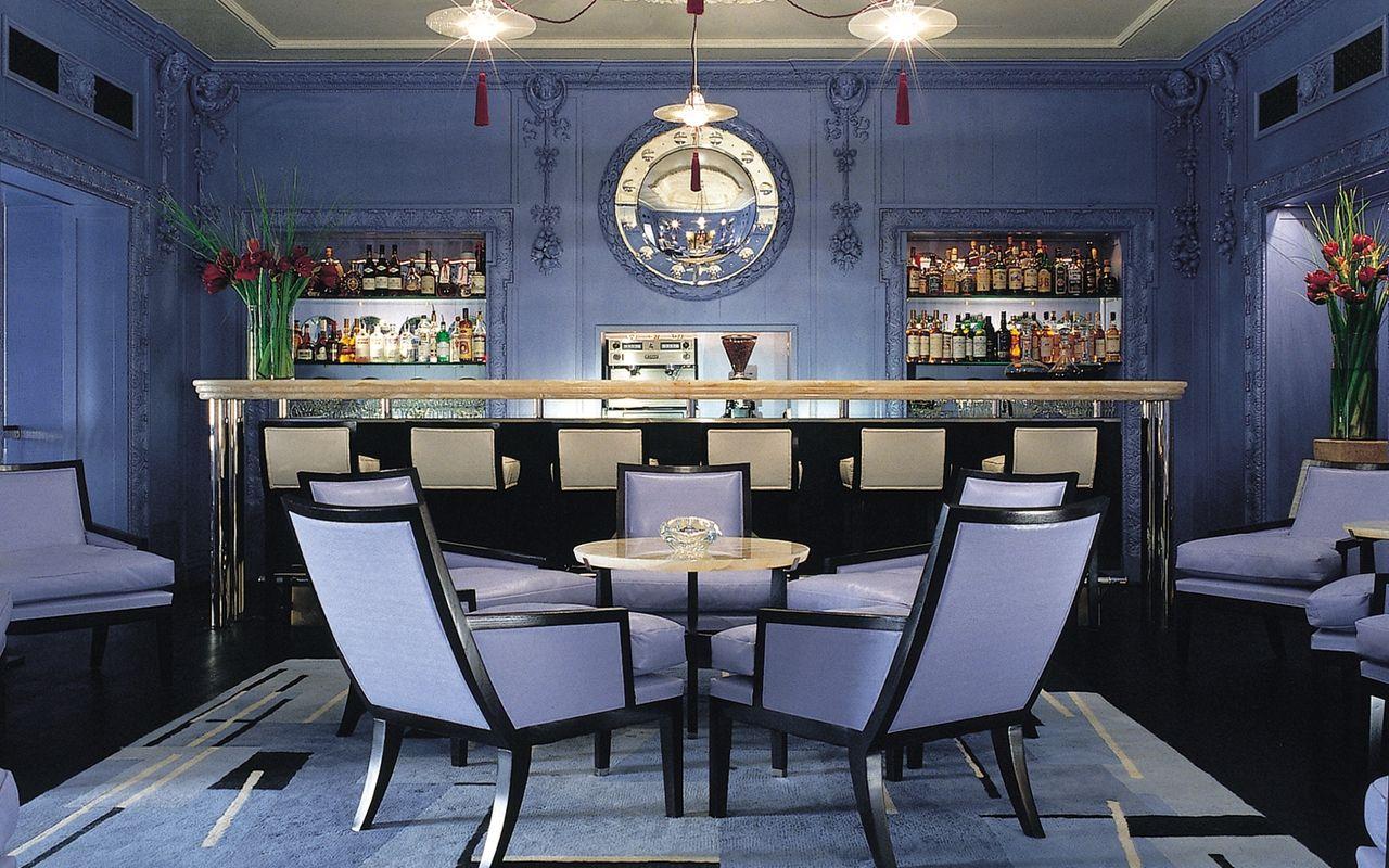 David Collins Studio Blue Bar at the Berkeley Hotel
