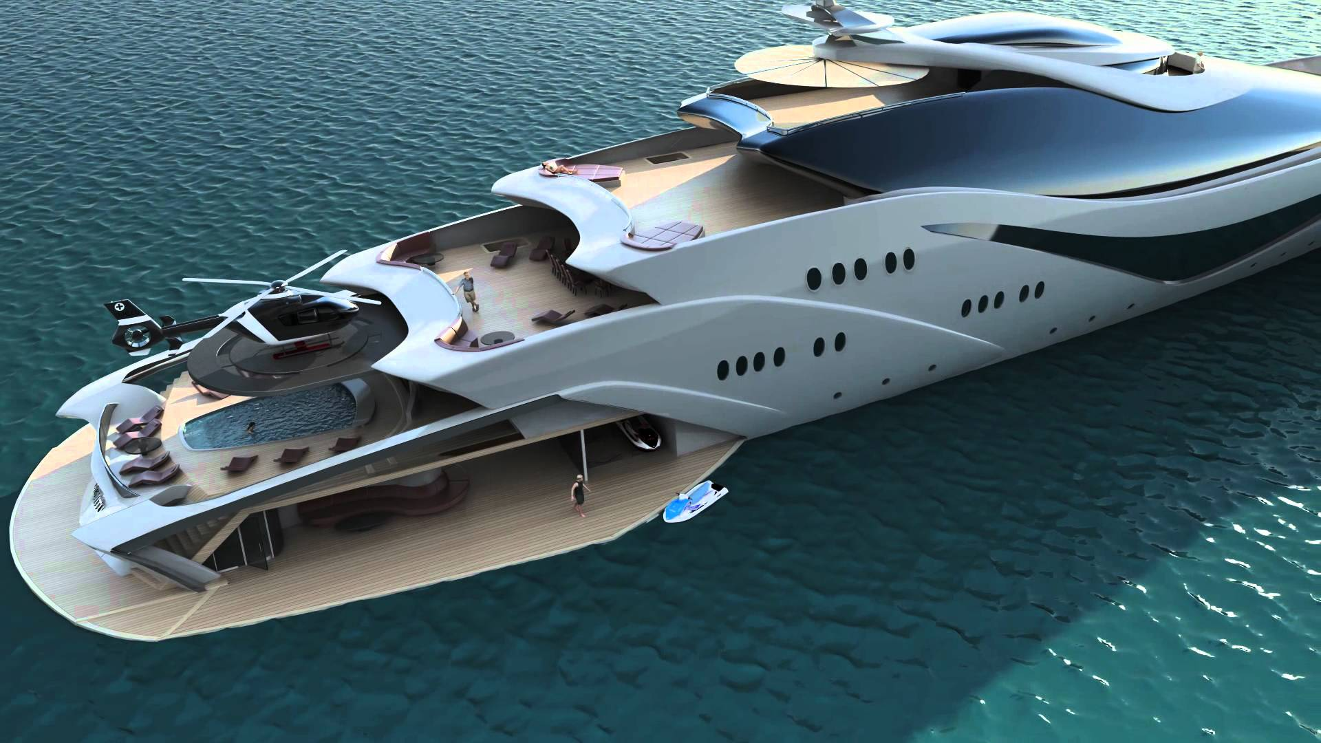 Luxury Yachts Interior Trends 2020
