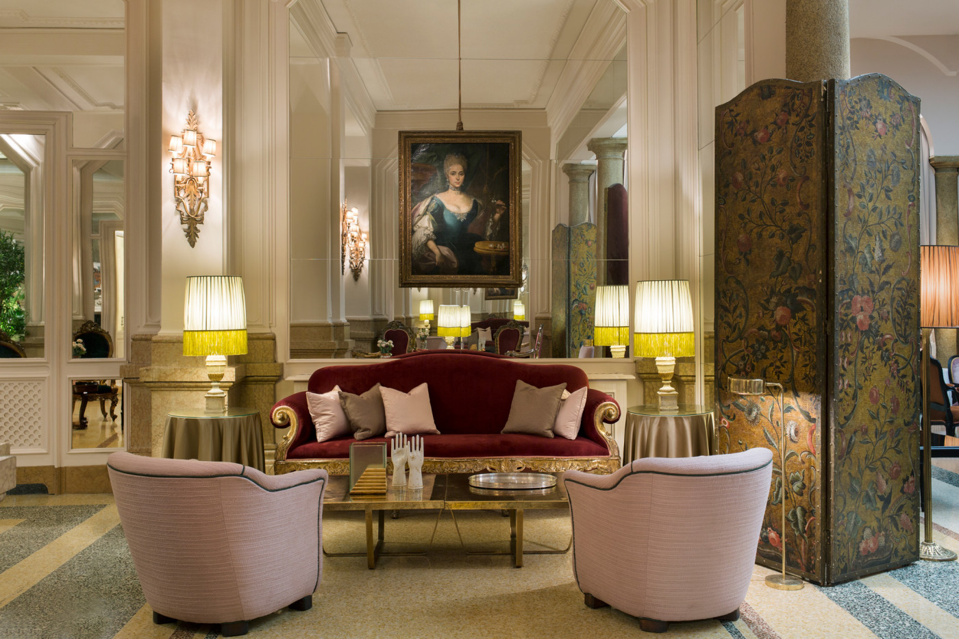Milan Grand Hotel Dimore Studio Interior