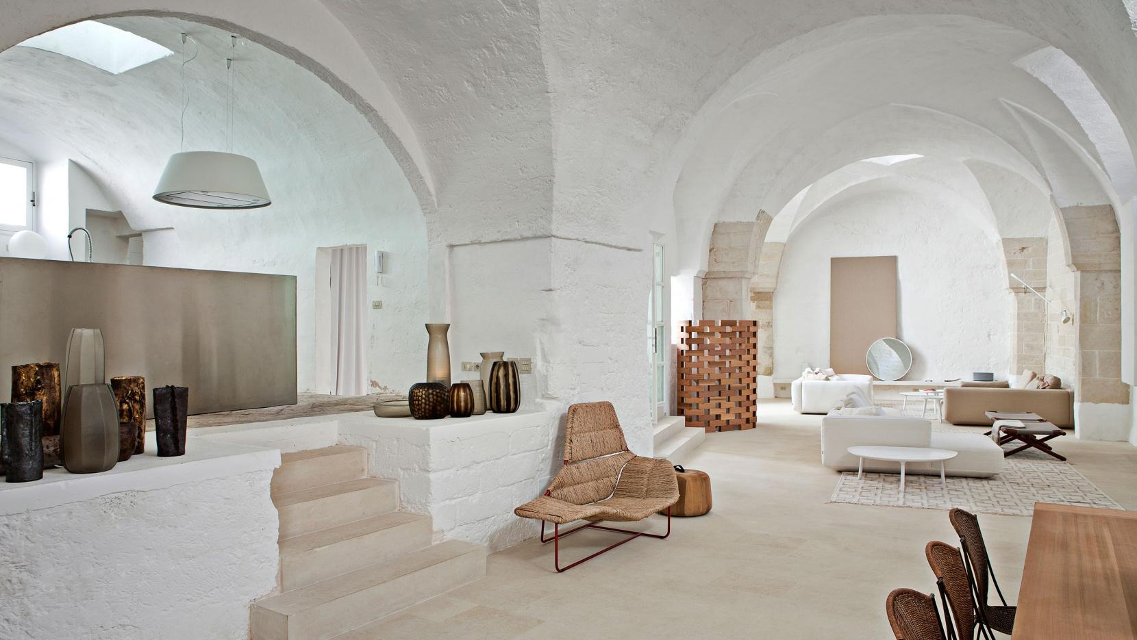Palomba serafini house interior