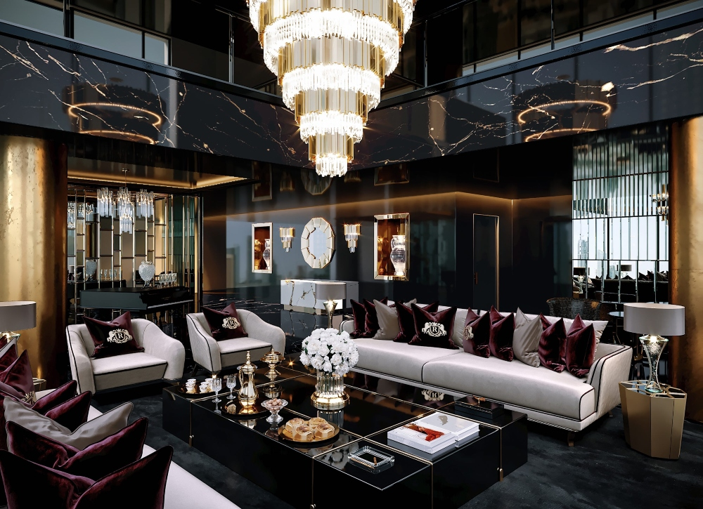 London designer Celia Sawyer project, Private Residence in UAE
