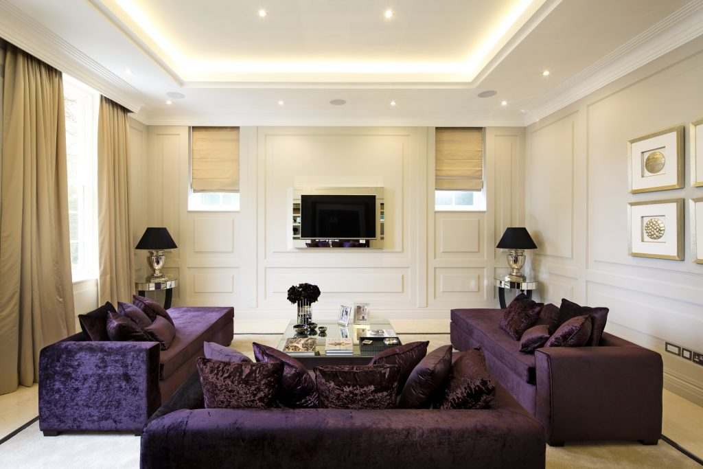 London designer Celia Sawyer project, Luxury Residence at the Bishop's Avenue, London