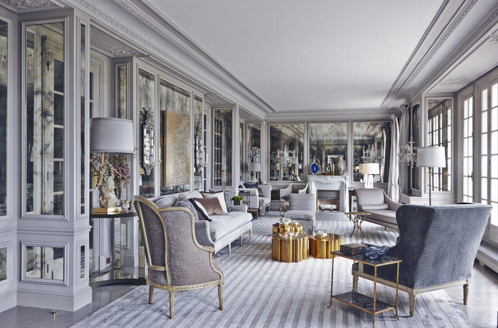 Paris Elysee Interior by Chahan Minassian