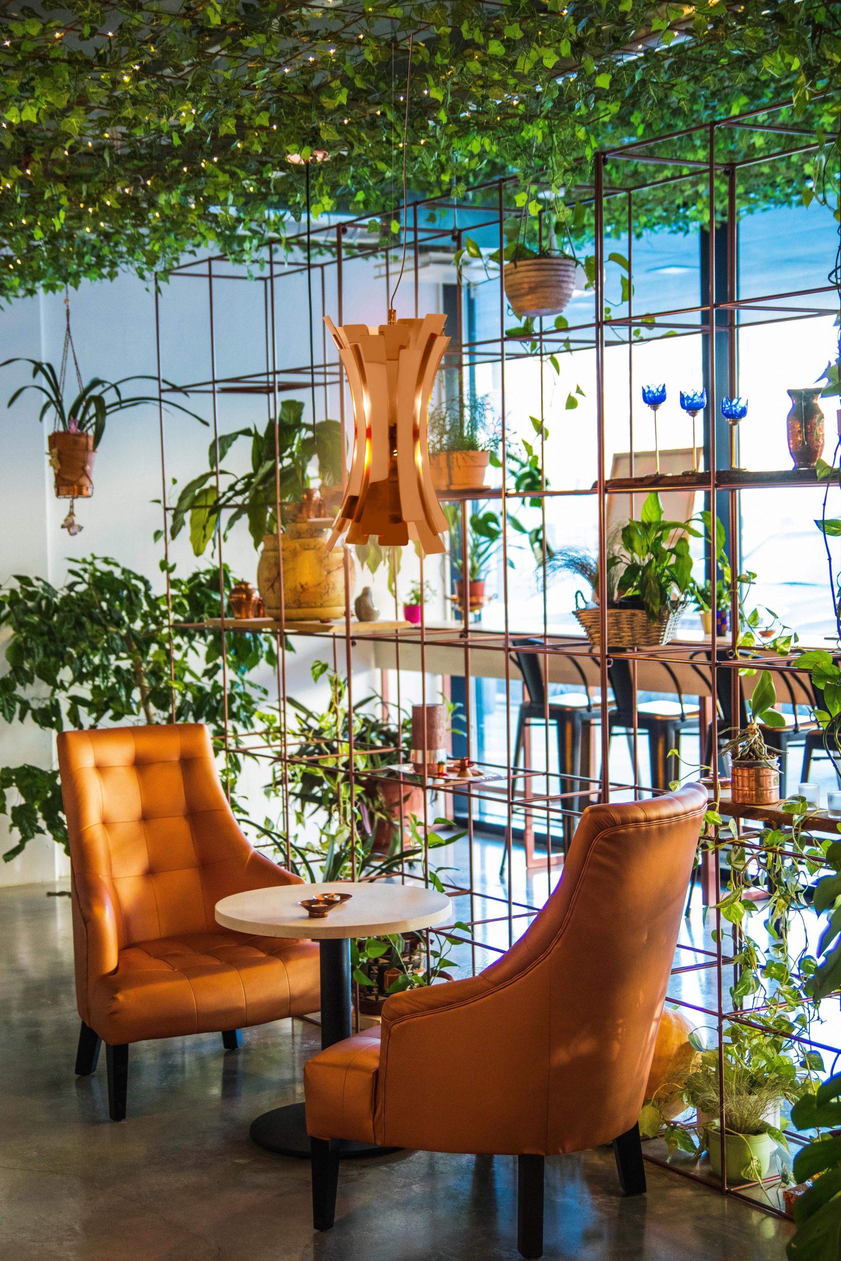 Nature-inspired restaurant
