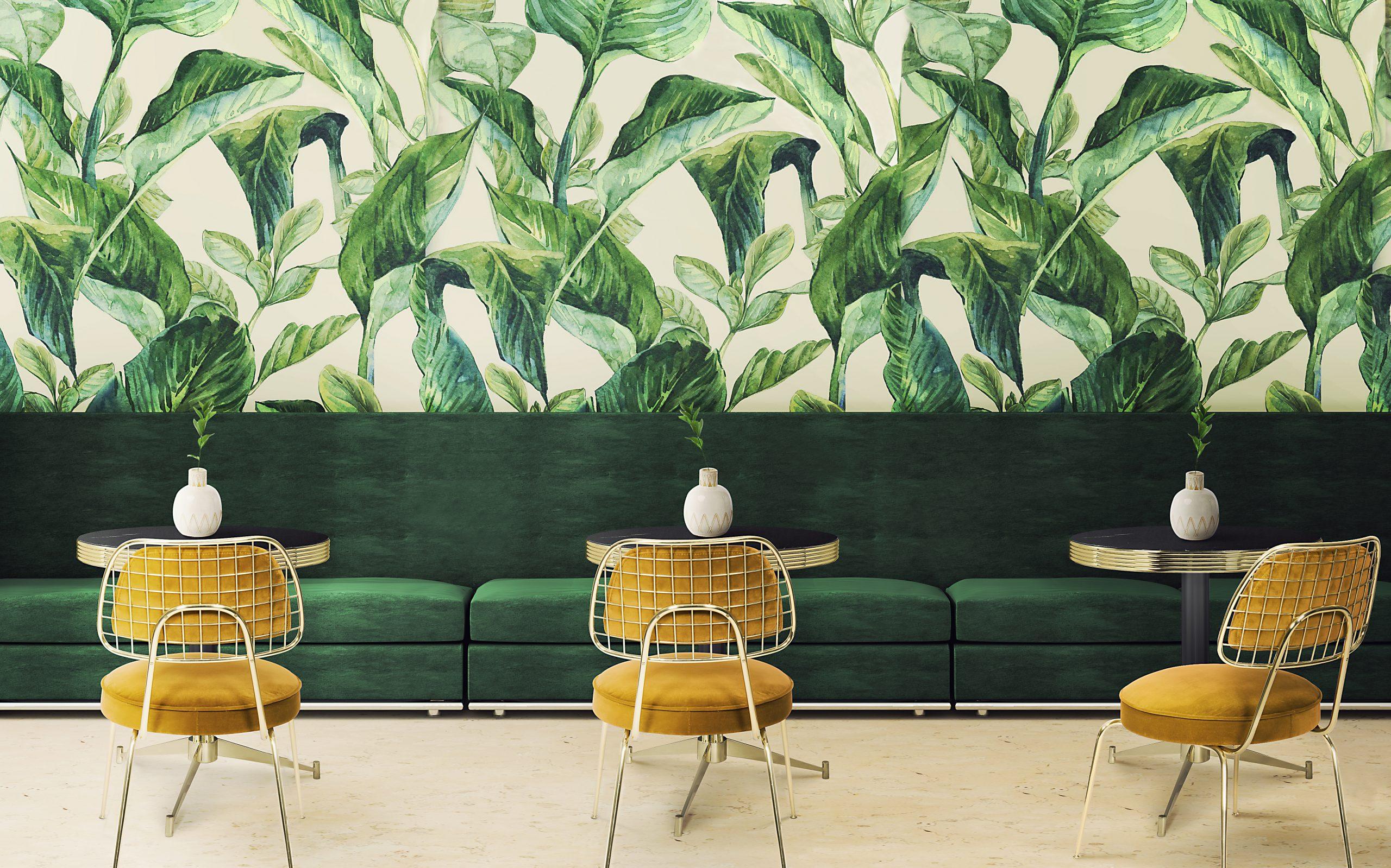 Nature patterns restaurant