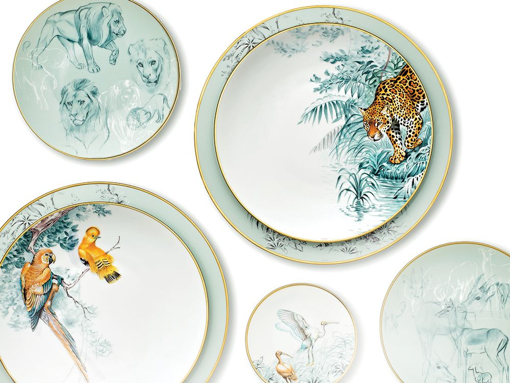 Hermés Tableware Collection