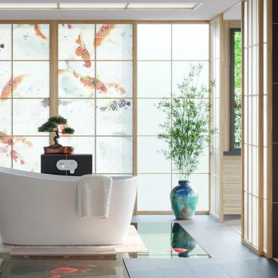 an oriental bathroom of Best Modern Bathroom Inspirations