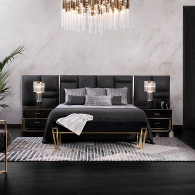 Black Friday Bedroom Interior Design